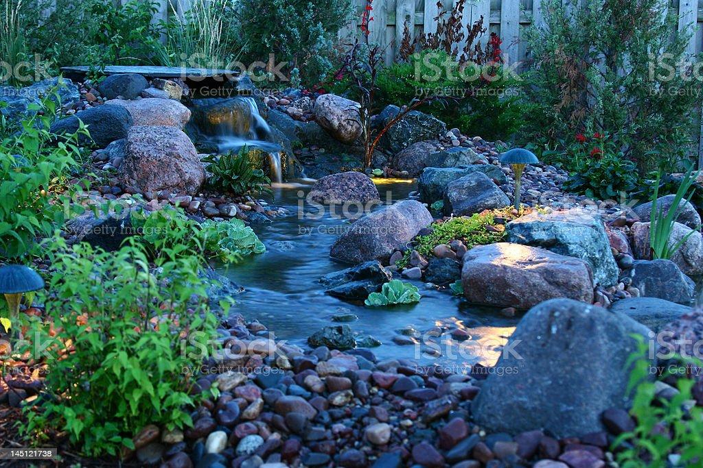 Backyard Bliss stock photo