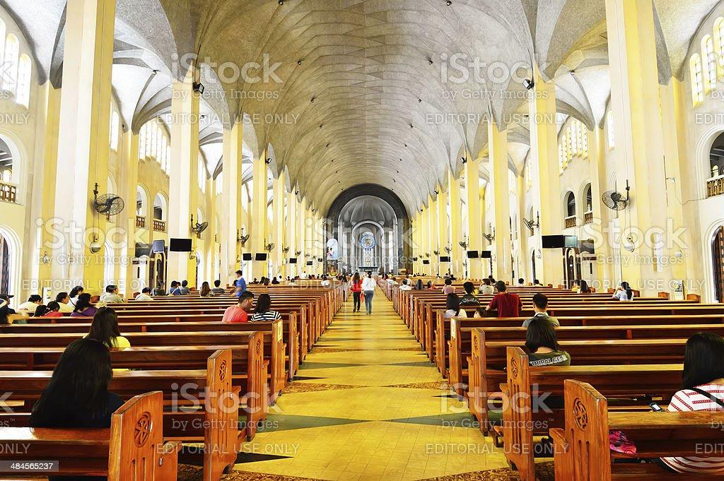 Baclaran Church in Metro Manila, Philippines stock photo