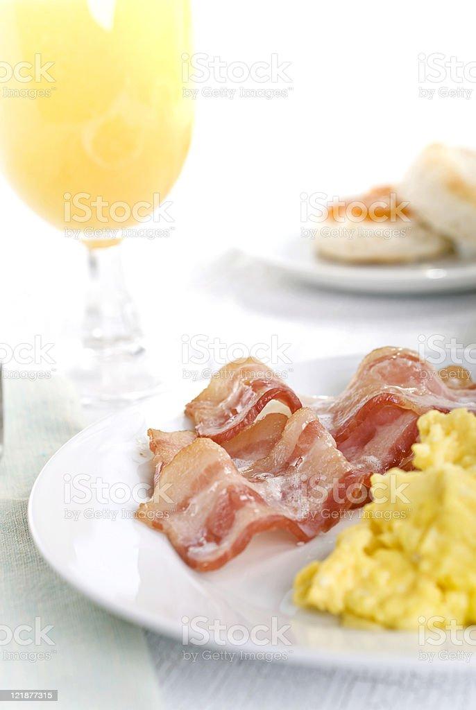 Bacon & Eggs royalty-free stock photo