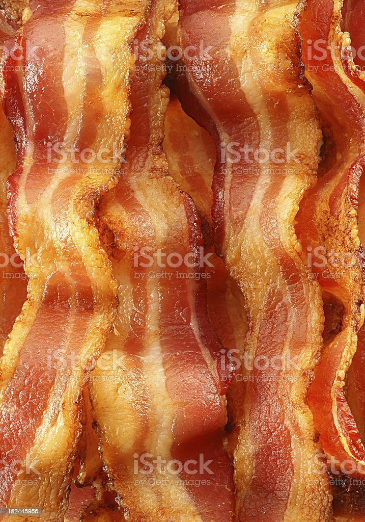 Bacon Background stock photo
