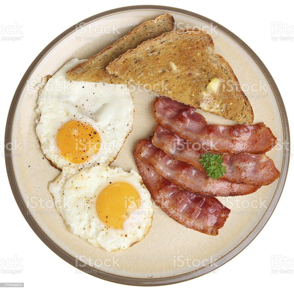Bacon, Eggs & Toast stock photo