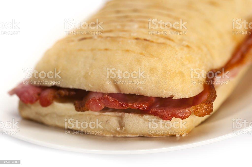 Bacon Panini royalty-free stock photo
