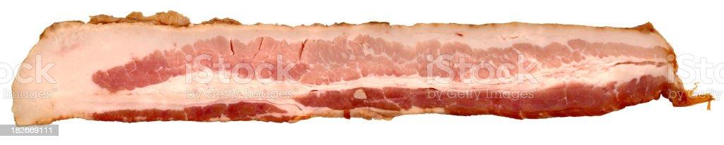 bacon rasher stock photo