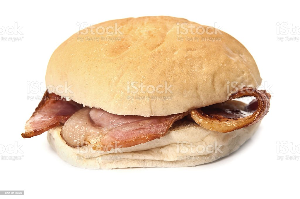 Bacon Roll royalty-free stock photo