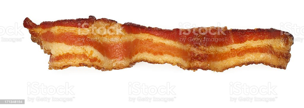 Bacon Slice stock photo