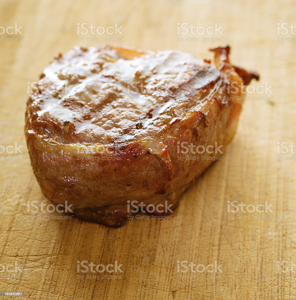 Bacon Wrapped Filet Steak royalty-free stock photo