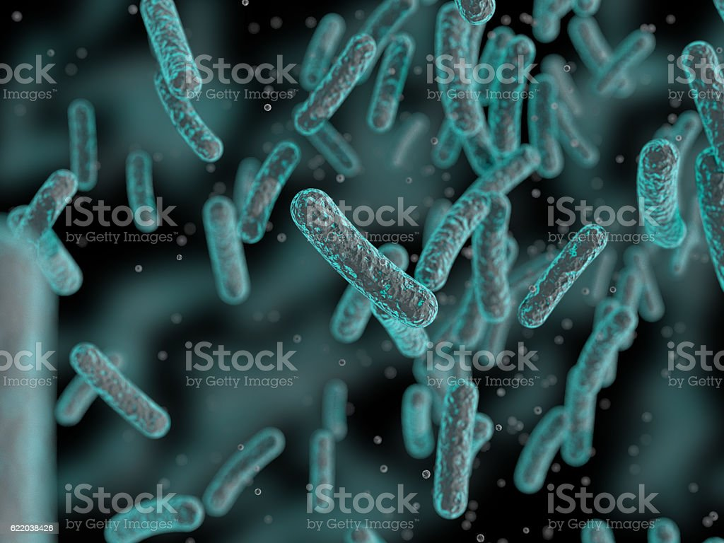 Bacteria, Microbes stock photo