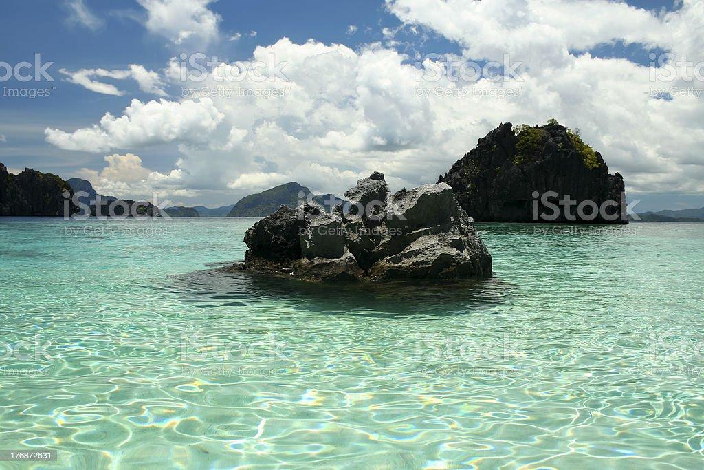 bacuit archipeligo el nido palawan philippines royalty-free stock photo