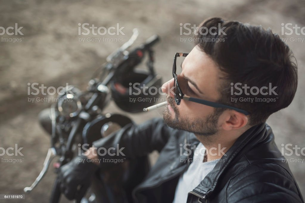 Bad And Bold stock photo