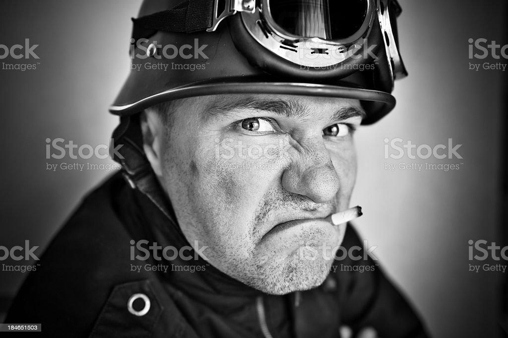 Bad Biker royalty-free stock photo
