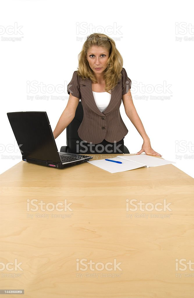 Bad boss. royalty-free stock photo