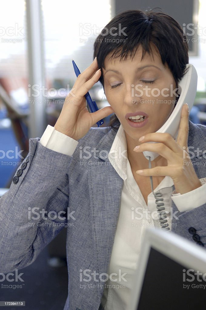 bad business news royalty-free stock photo