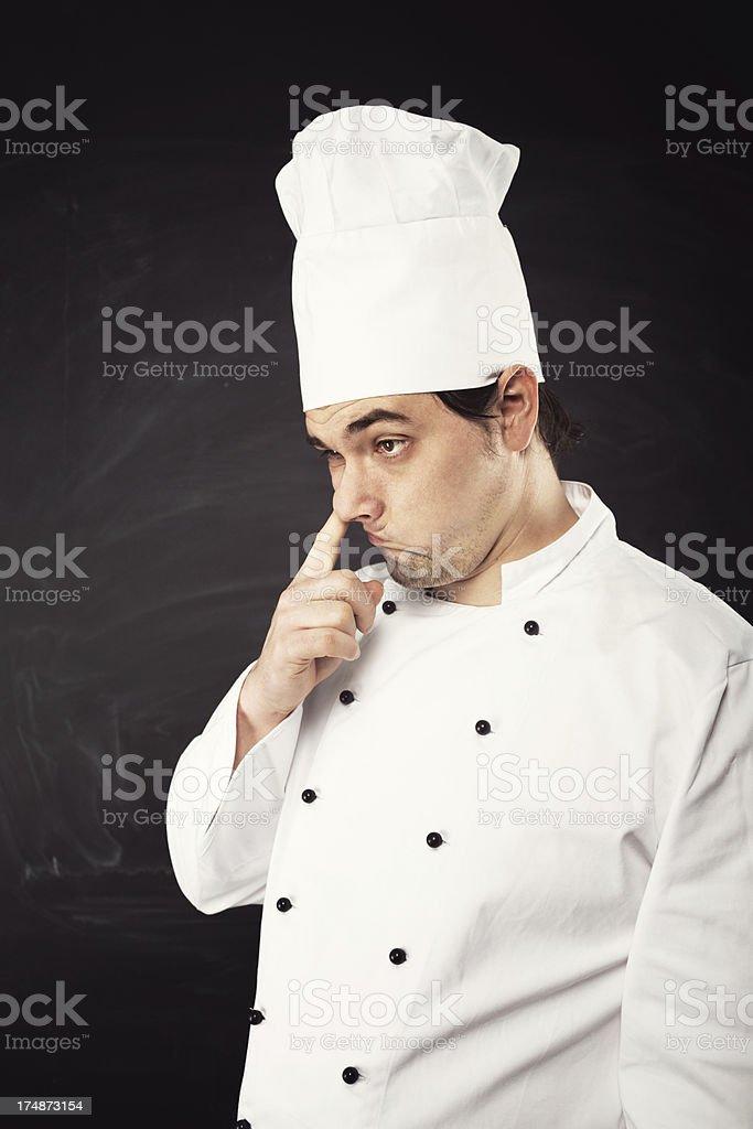 Bad Chef royalty-free stock photo
