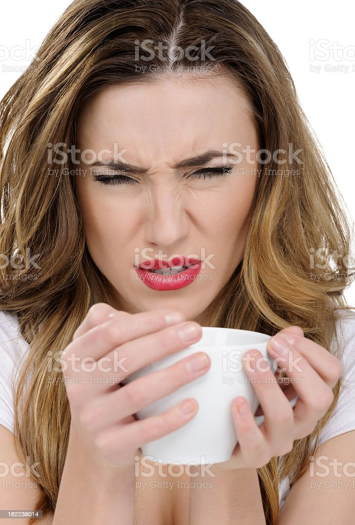 bad coffee royalty-free stock photo