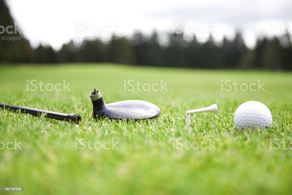 bad day at the links royalty-free stock photo