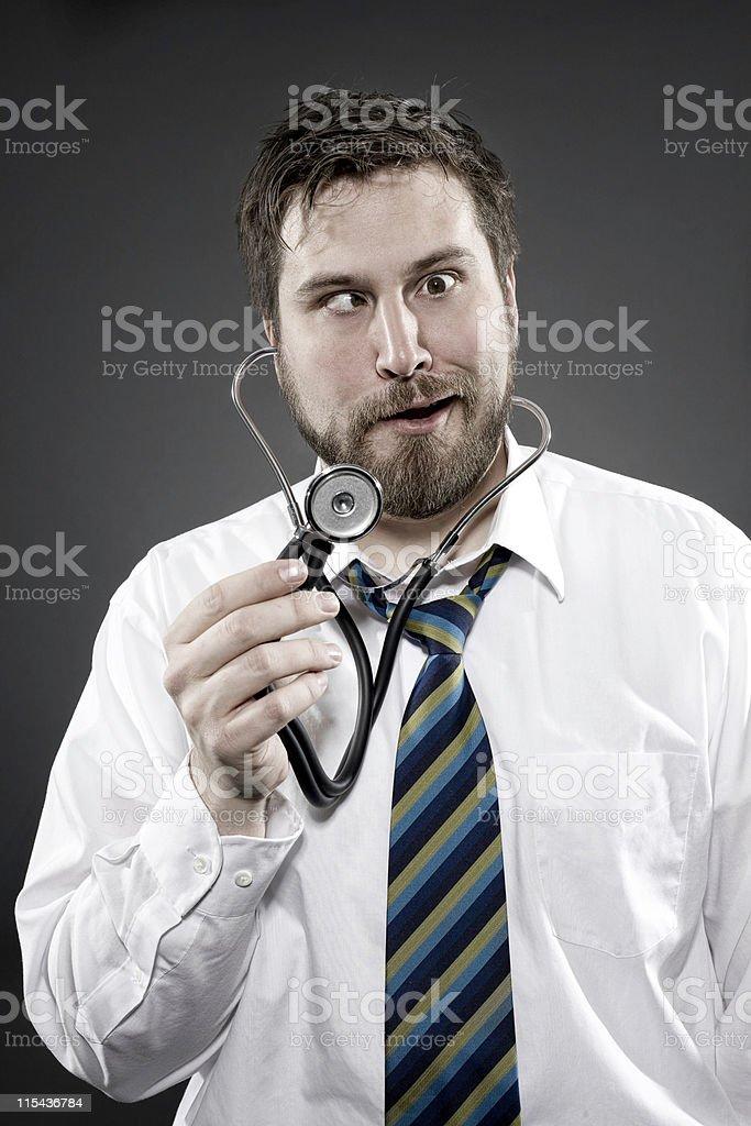 bad doctor stock photo