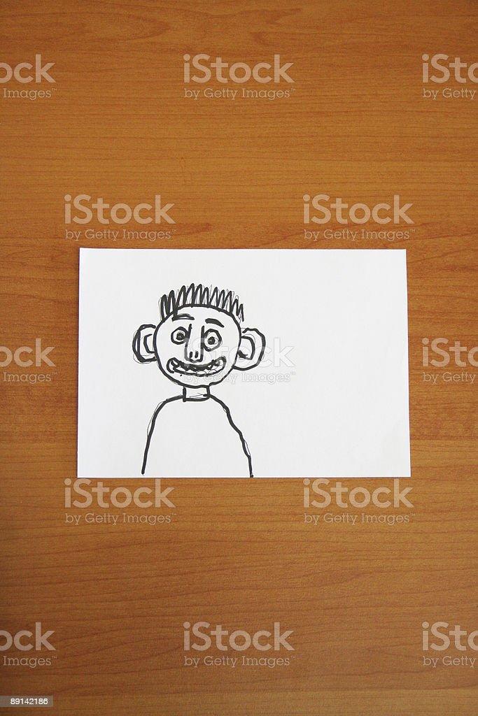 bad drawing royalty-free stock photo