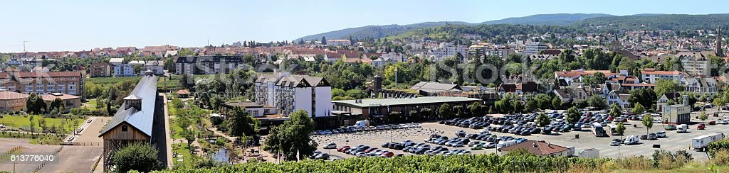 Bad Dürkheim, Rhineland-Palatinate, Germany stock photo