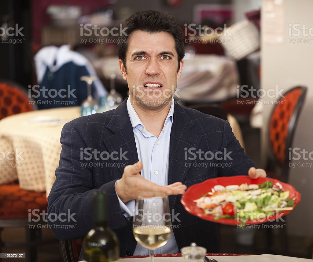 Bad food stock photo