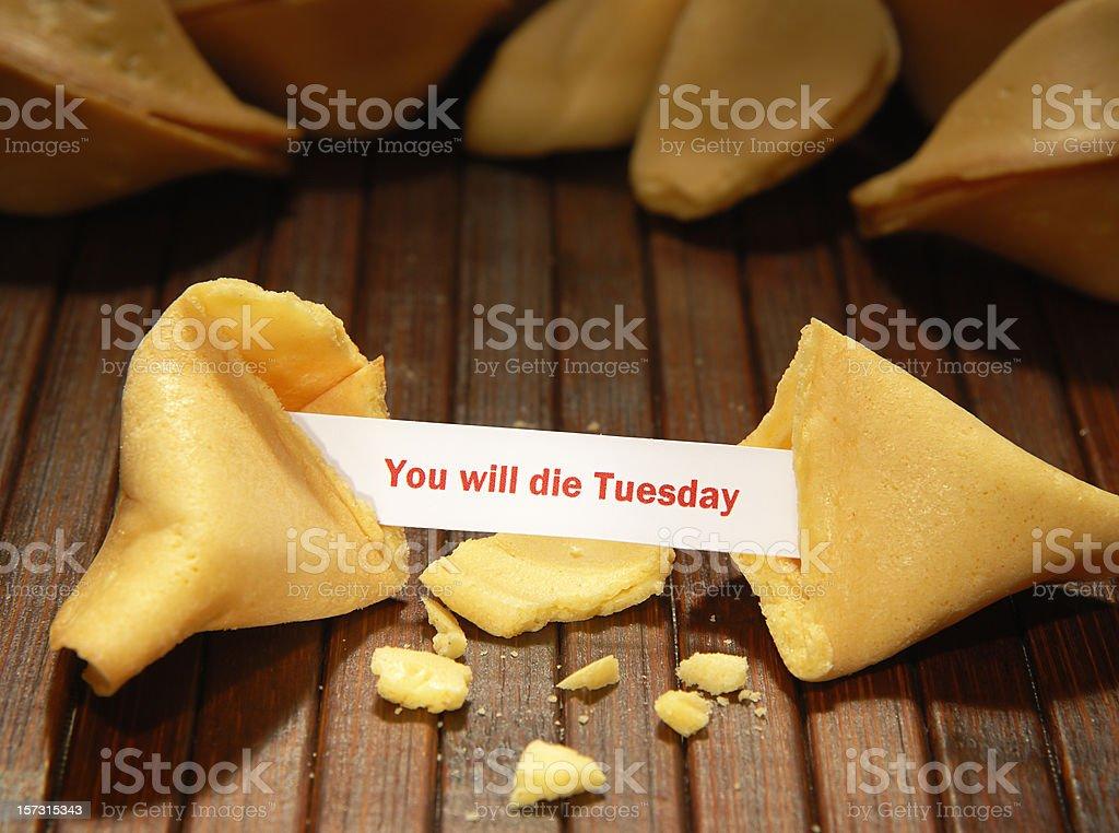 Bad fortune stock photo