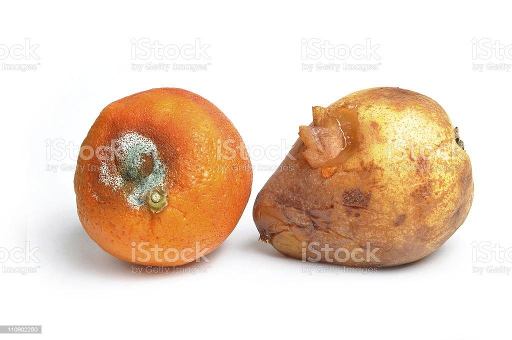 bad fruit royalty-free stock photo