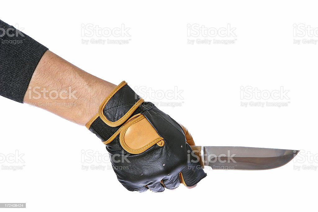 Bad Guy's Hand royalty-free stock photo