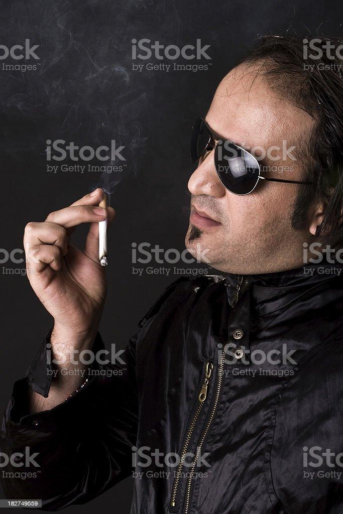 bad habit cigar stock photo