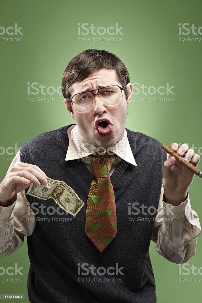 Bad habit royalty-free stock photo