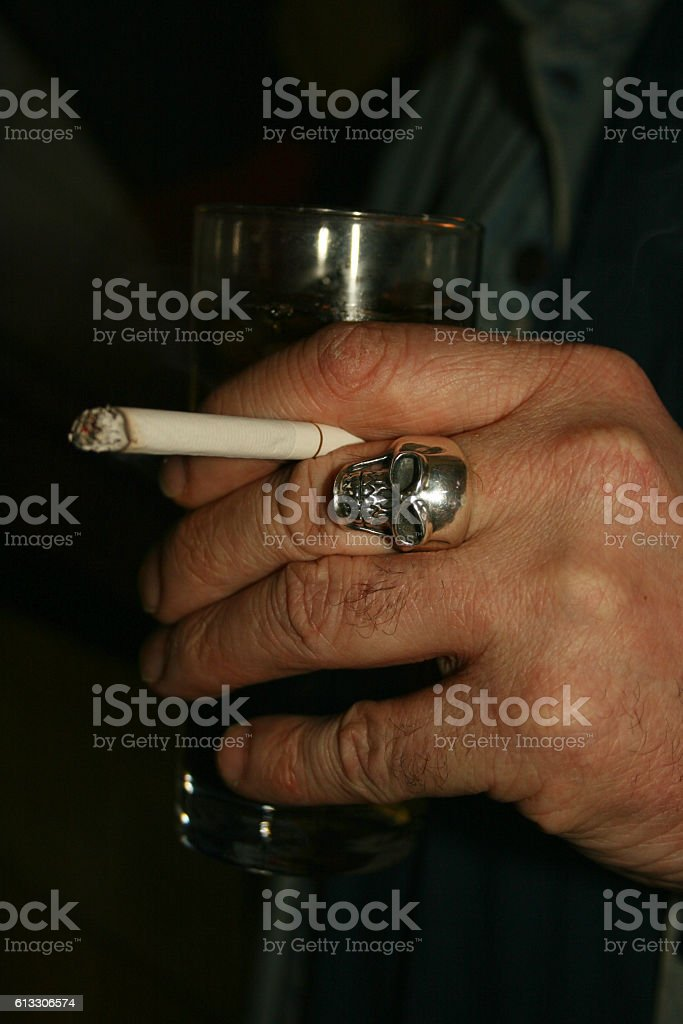 Bad Habit stock photo