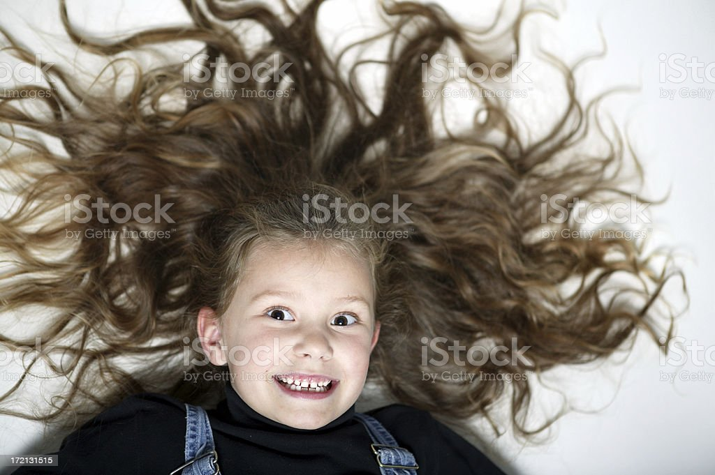 Bad Hair 0001 royalty-free stock photo