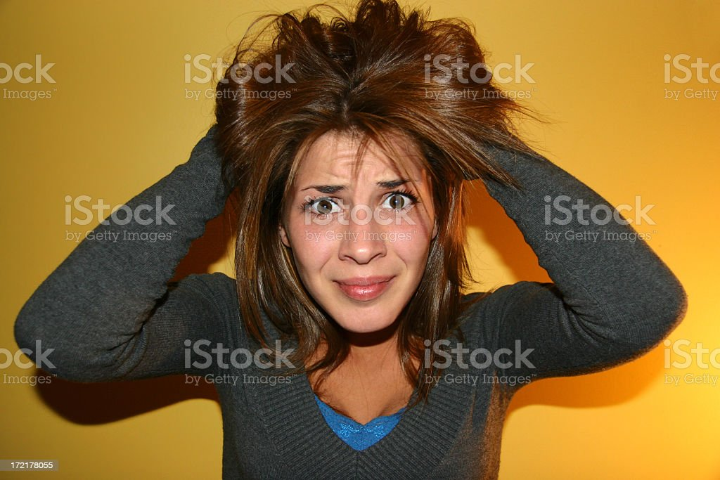 Bad Hair Day!!! royalty-free stock photo
