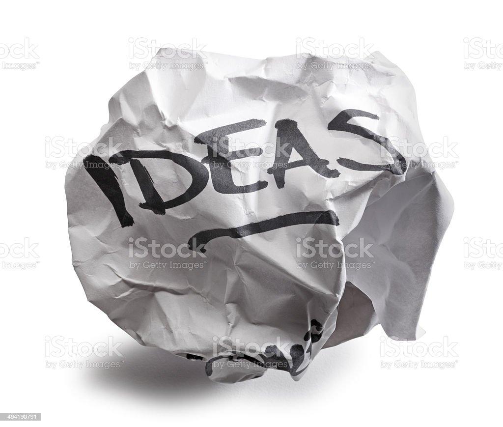 Bad Ideas royalty-free stock photo