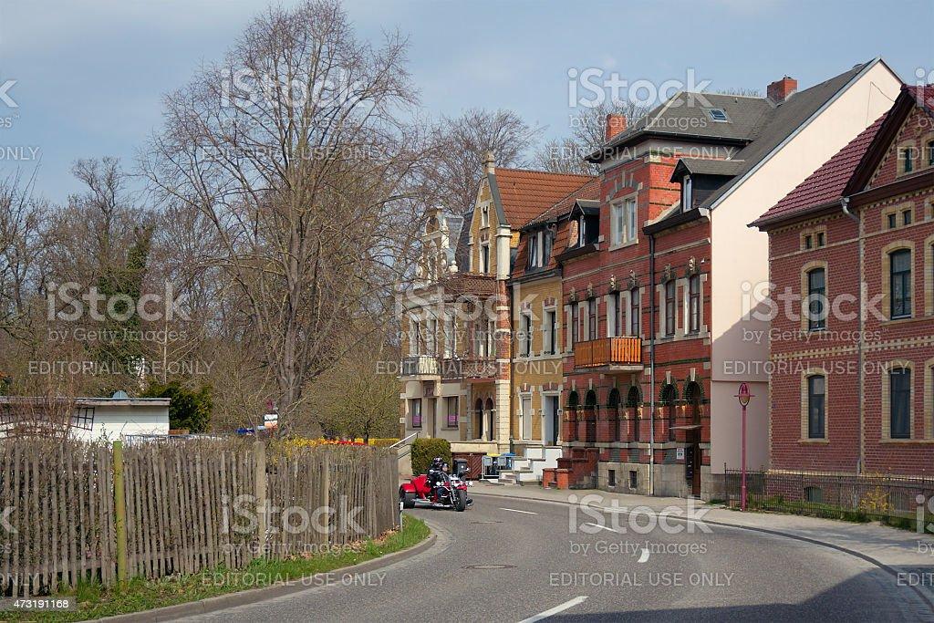 Bad Koesen, Saxony-Anhalt, Germany stock photo