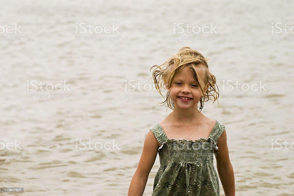 Schlechte Lake Haar Lizenzfreies stock-foto