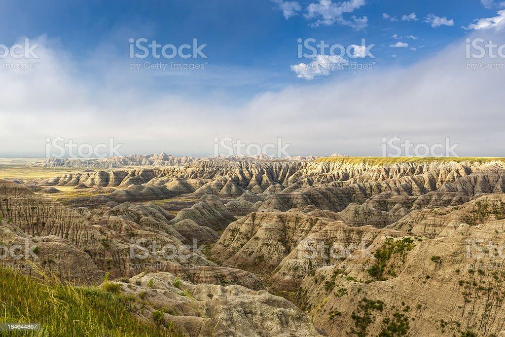 Bad Lands stock photo