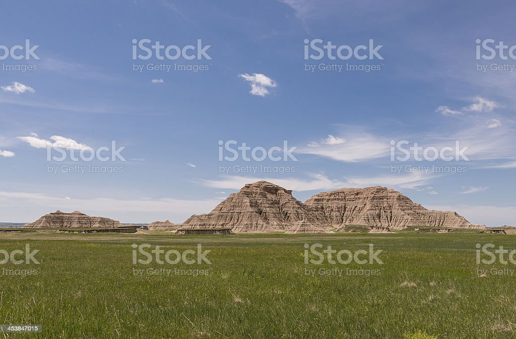 Bad Lands royalty-free stock photo