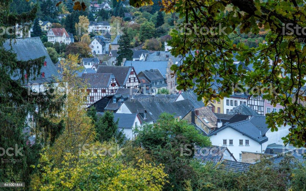 Bad Münstereifel in Germany stock photo