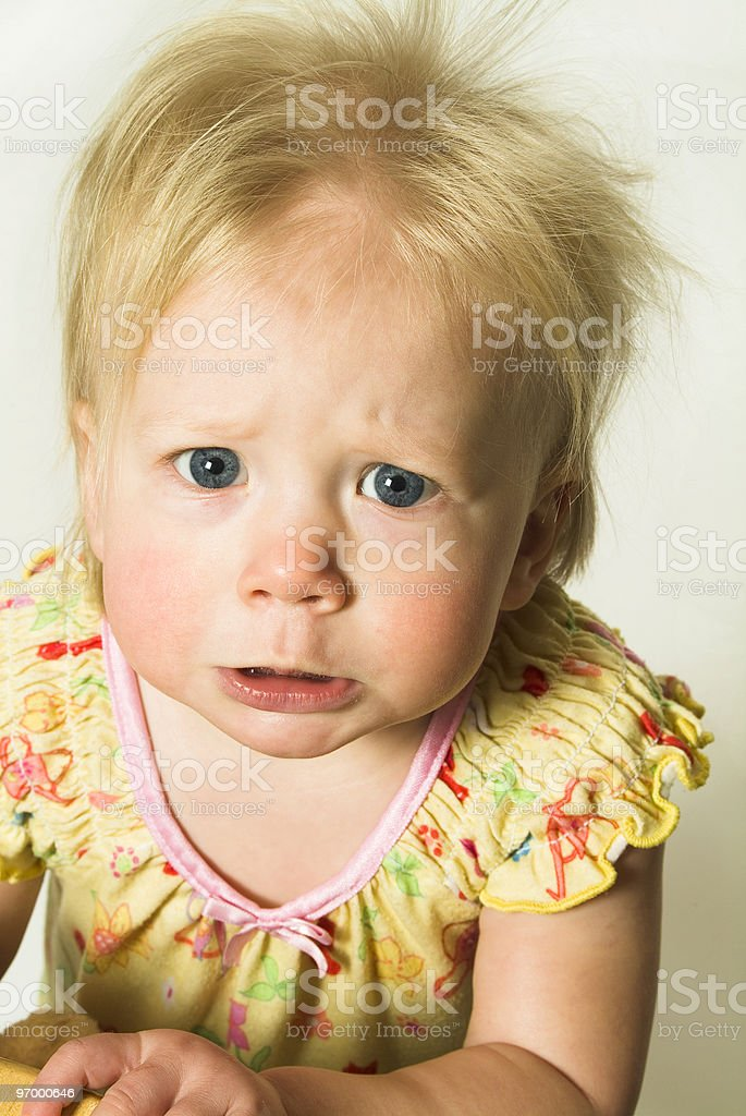 Bad Morning royalty-free stock photo