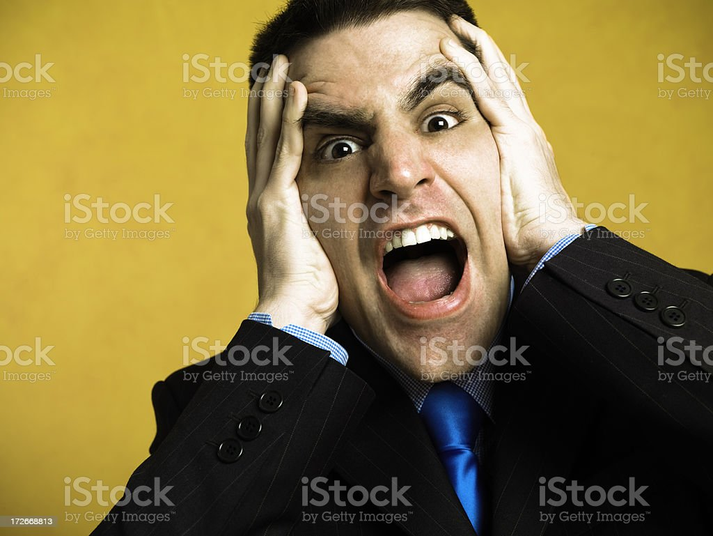 Bad news royalty-free stock photo