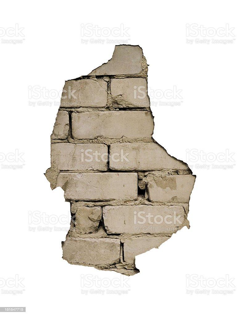 Bad plaster royalty-free stock photo