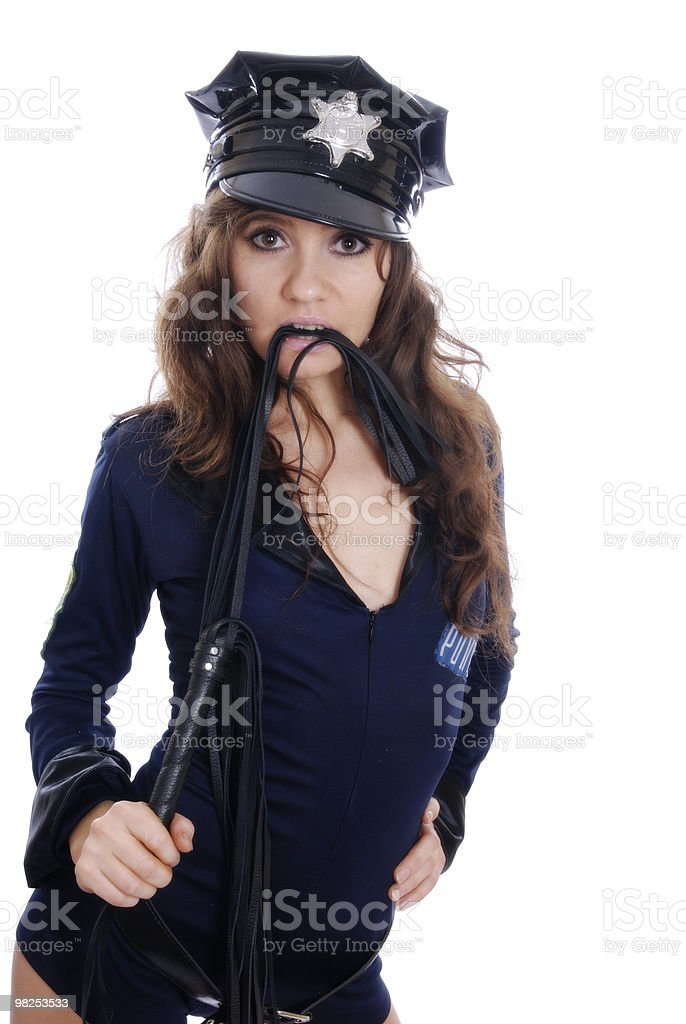 bad police-officer stock photo