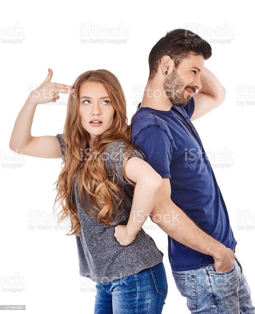 bad relationship stock photo
