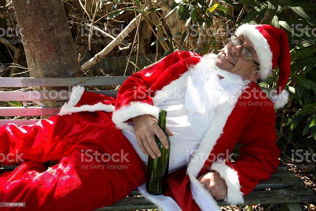 Bad Santa royalty-free stock photo