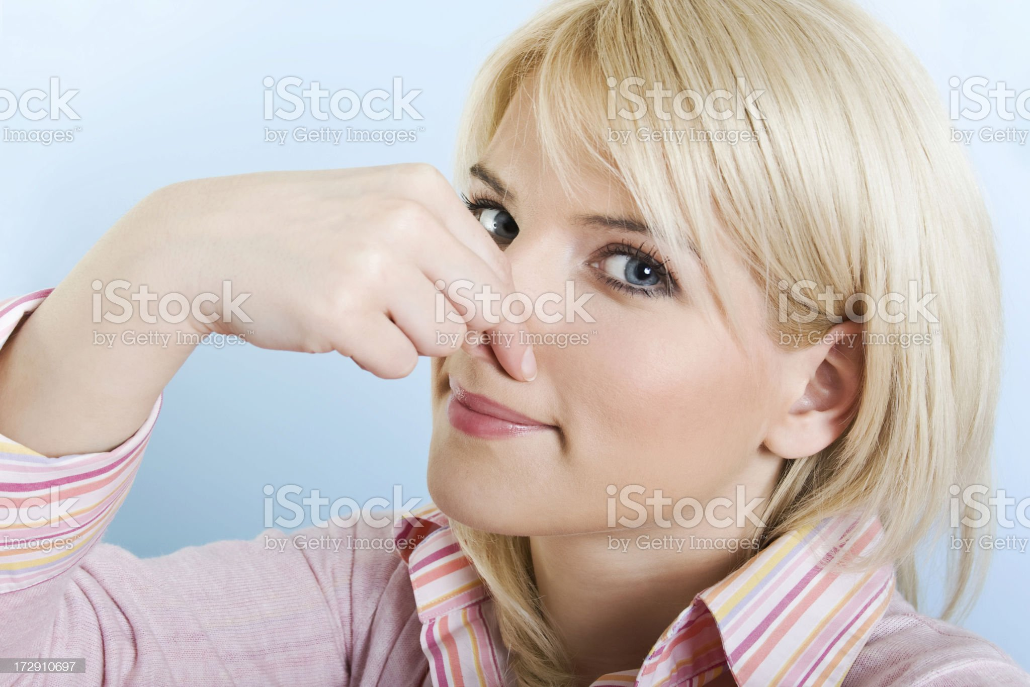 Bad Smell royalty-free stock photo