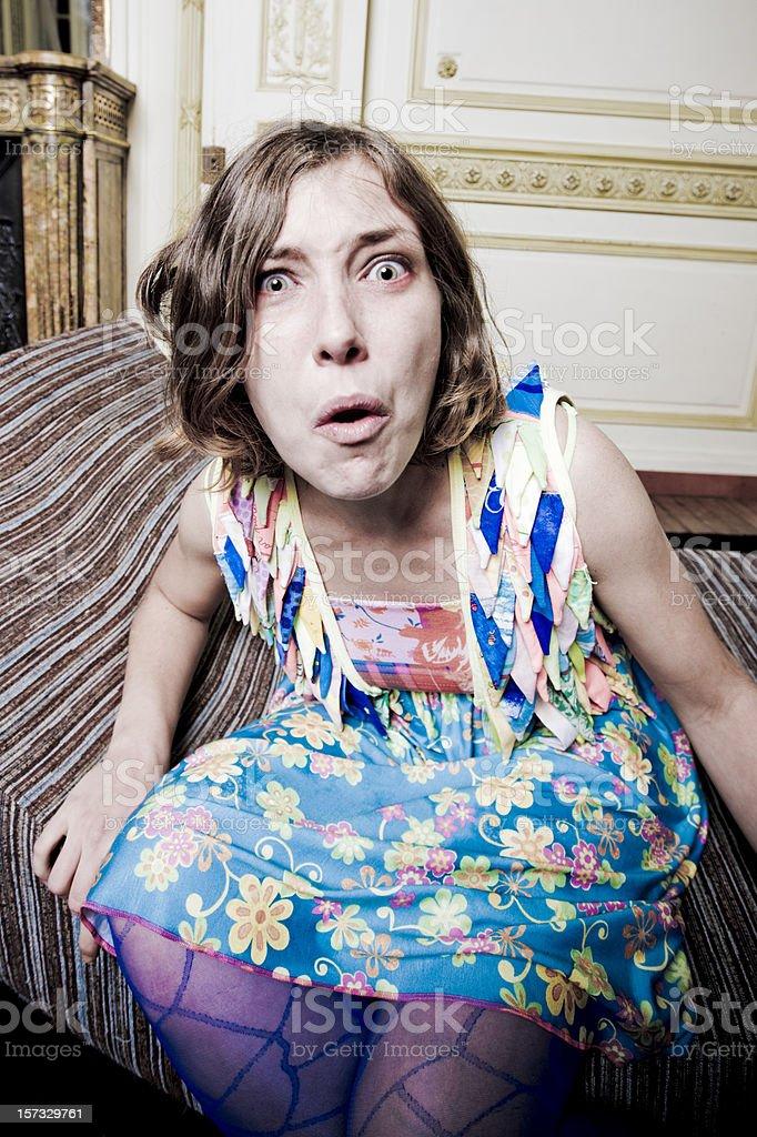 Bad Surprise stock photo