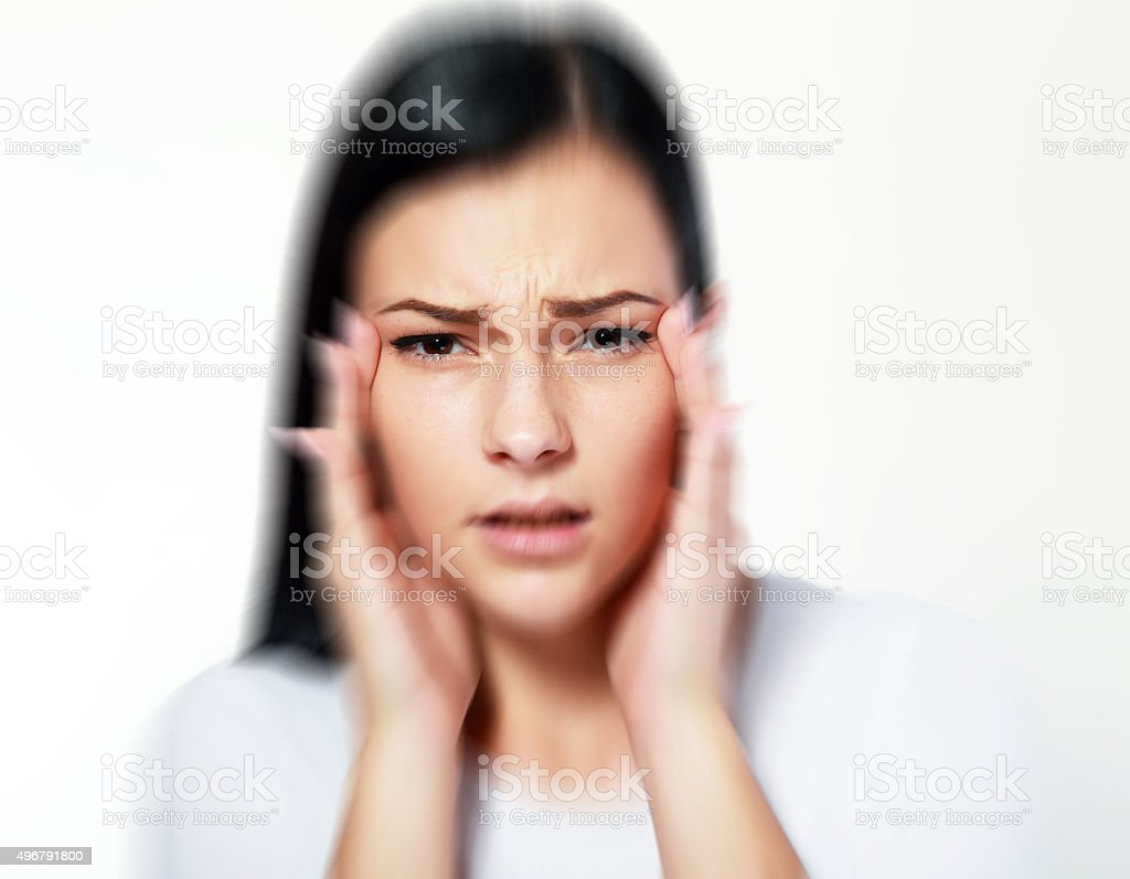 bad vision blur stock photo