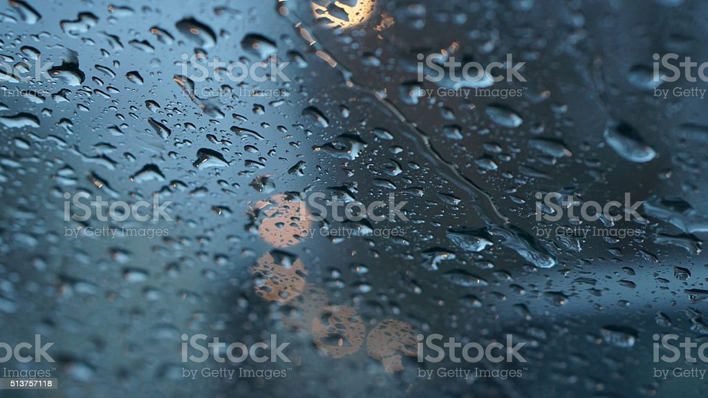 Bad Weather In London stock photo