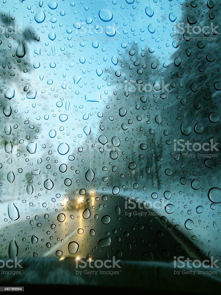 Bad weather stock photo