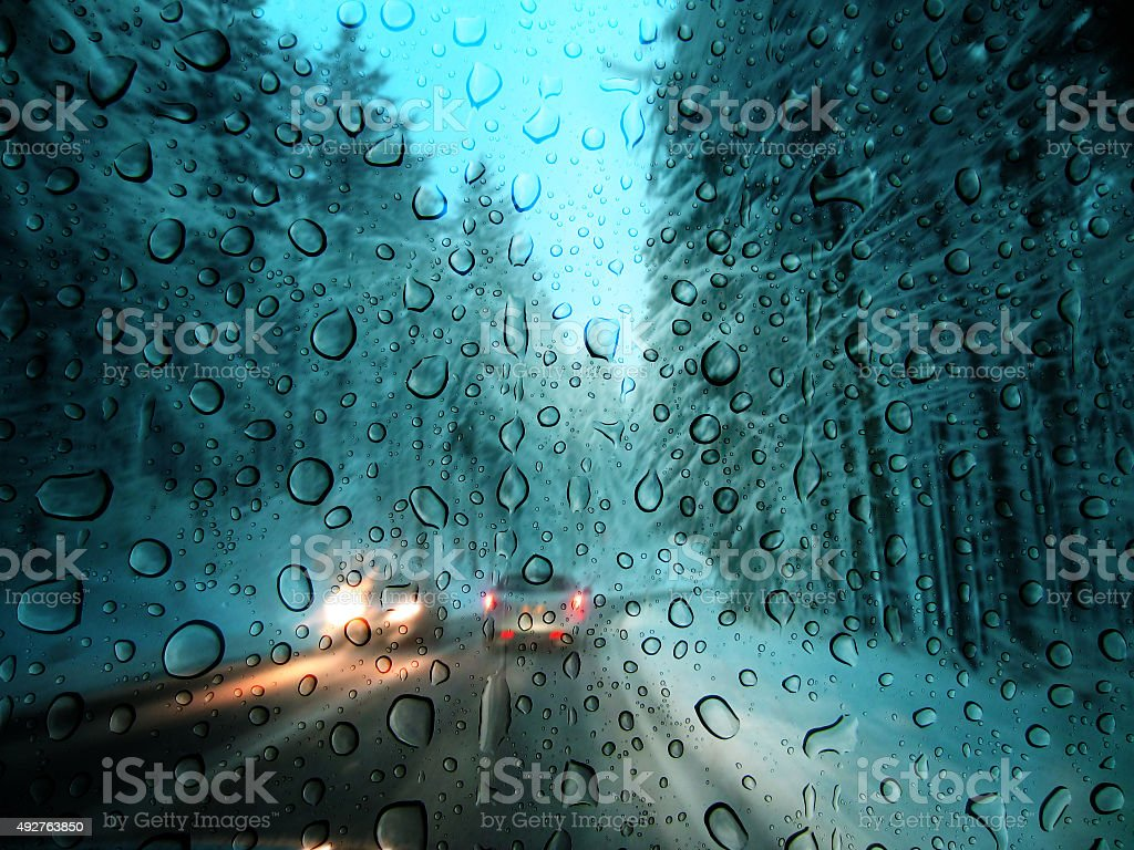 Bad weather stock photo