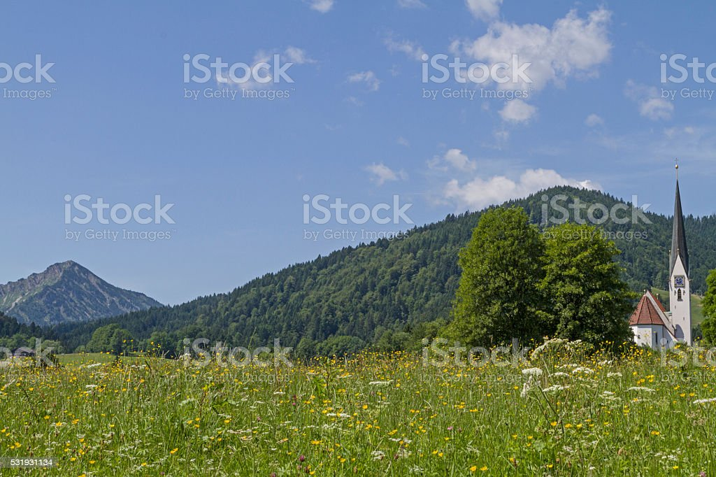 Bad Wiessee stock photo